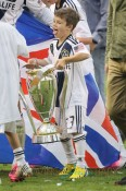 Cruz Beckham at the MLS Cup Game