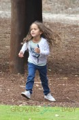 Jennifer Lopez's Twins, Max Anthony & Emme Anthony, Play At a Park