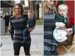 Hilary Duff out with son Luca Comrie