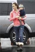 Jennifer Garner out with son Samuel Affleck