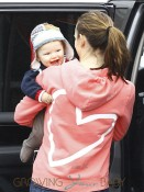 Jennifer Garner with son Samuel Affleck