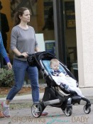 Jennifer Garner Takes Samuel On Her Coffee Run