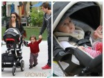 Kourtney Kardashian, Scott Disick, Mason & Penelope Disick out in LA