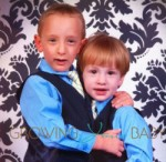 My boys in Dockers suits