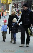 Naomi Watts and Liev Schreiber Take Their Sons to Billy's Bakery