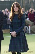 Kate, The Duchess of Cambridge returns to her old school St. Andrew's School