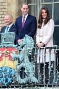 Prince William, Duke of Cambridge and Catherine, Duchess of Cambridge in Cambridge to open Peterborough City Hospital