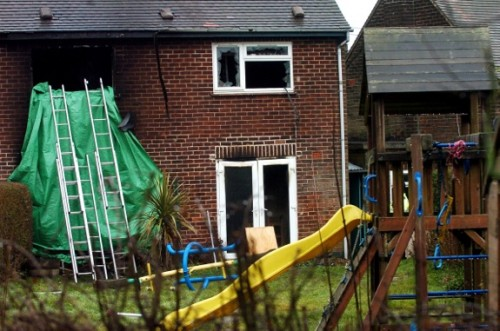 Four Kids Die in Derby Fire in UK