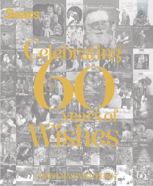 Sears 60th anniversary catalog cover
