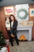 Tiffani Thiessen with daughter Harper - photographer  NoahGraham