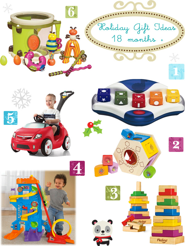 12 To 18 Month Toys : Holiday gift ideas for kids months growing your baby