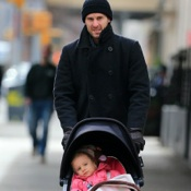 Jason Hoppy Does The School Run With Daughter Bryn