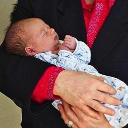 Sir Elton John and David Furnish Show off the Family's Newest Addition, Son Elijah