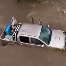 Toddler Rescued from Submerged Truck Trapped in Australian Floods