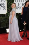 A pregnant Kristen Bell - 70th annual Golden Globe Awards, arrivals 2013