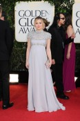 A pregnant Kristen Bell - 70th annual Golden Globe Awards, arrivals (Jan