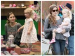 Amy Adams with daughter Avianna shopping in LA