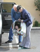 Anna Faris Runs Errands With Her Two Jacks, Father Jack Faris and Son Jack Pratt