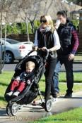 Elizabeth Banks with husband Max Handelman and son Felix
