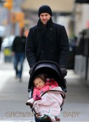Jason Hoppy and Bryn Hoppy out and about in NYC
