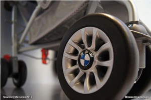 Maclaren BMW stroller - wheels