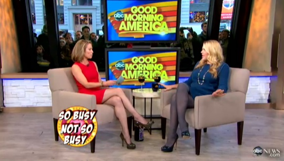 Pregnant Busy Philipps On Good Morning America Growing