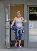 Busy Philipps out in West Hollywood, CA