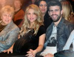Shakira Attends Her Father's Book Presentation