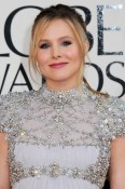 pregnant Kristen Bell - 70th annual Golden Globe Awards, arrivals (Jan