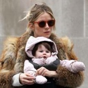 Sienna Miller Steps Out In NYC With Daughter Marlowe