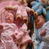 "UK Mom Gives Birth to ""Supersized"" Twins with a Combined Weight of 17 Pounds, 8 Ounces!"