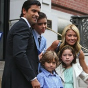 Mark Consuelos and Kelly Ripa Celebrate Son's Graduation