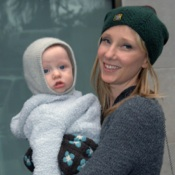 Anne Heche and Atlas Bundle Up In NYC