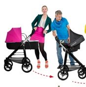 phil&teds Debuts The New Smart 'Color It Your Way' Stroller