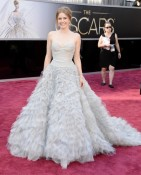 Amy Adams red carpet at the 85th Annual Academy Awards