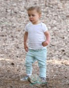 Selma Blair Takes Arthur To The Park