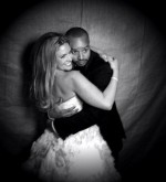 CaCee Cobb and Donald Faison at their wedding