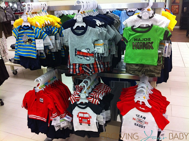 Carters Boys Collection at Sears