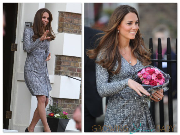 Catherine Duchess Of Cambridge Visits Hope House In London