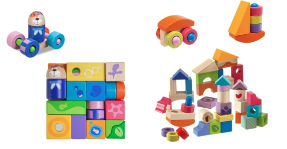 Chicco Wooden Collection Toy Fair 2013