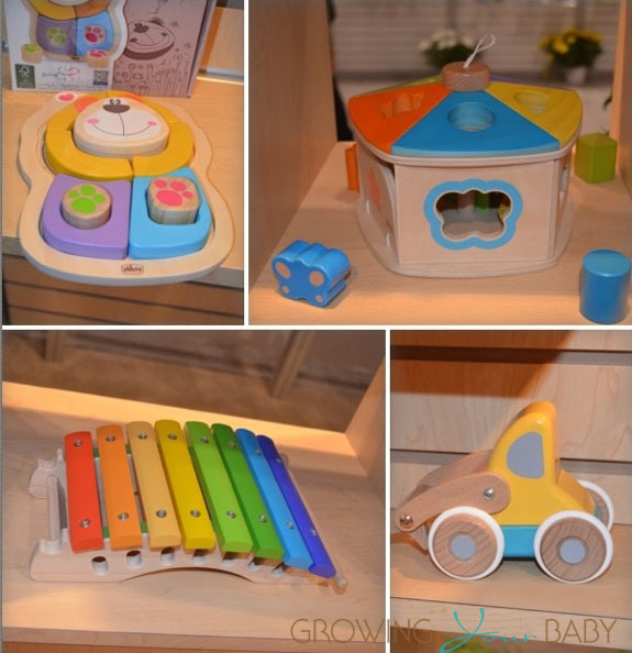 Chicco wooden collection 2013