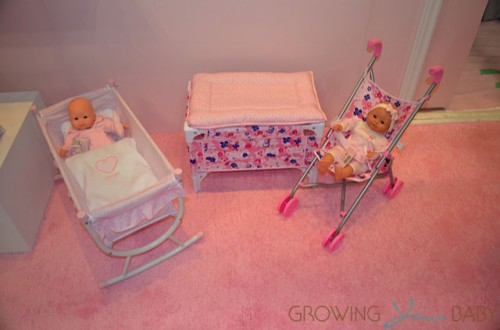 Corolle 2013 - Doll bed, stroller and cradle