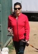 Pregnant Jenna Dewan Takes Her Dogs To Runyon Canyon