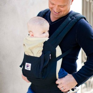 Ergo Baby Carrier Black:camel