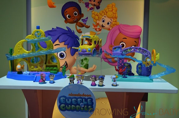 Fisher-Price Bubble Guppies play sets
