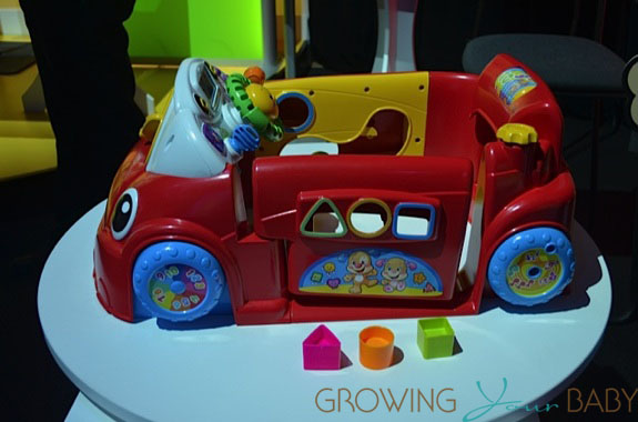 Car Seat Toy Fisher Price : Toy fair new for fisher price