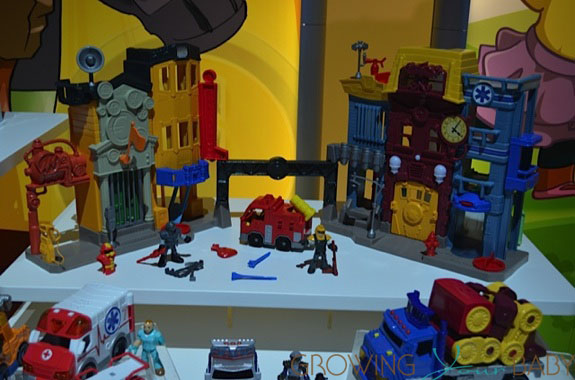 Imaginext® Rescue City Center