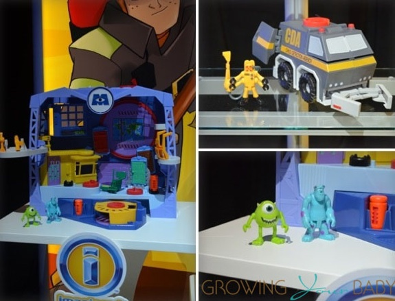 Imaginext Monsters Inc Play Set Toy Faor 2013 Growing