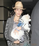 Jenna Dewan-Tatum at Los Angeles International Airport