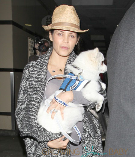 Jenna Dewan-Tatum at Los Angeles International Airport